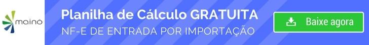 Planilha de Cálculo Nota fiscal de entrada de importação grátis