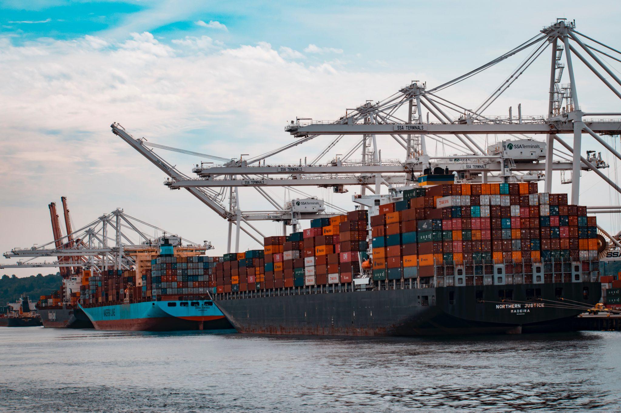 Importação dos EUA através de navios